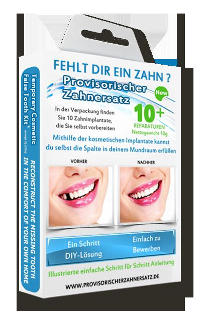 Provisorische Zahnfüllung Selber Machen